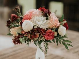Poročni šopek_poroka