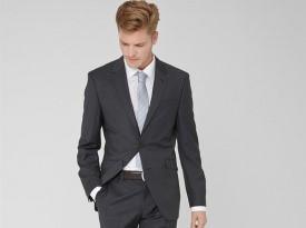 Moška poročna obleka, s.Oliver, Black Label, zaobljuba.si