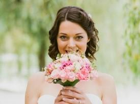 poročni šopek nevesta poročna obleka