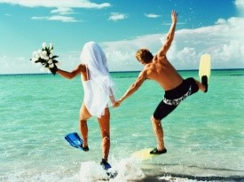 poročno potovanje, poroka v tujini, poročno doživetje, medeni tedni, agencija trud, zakon, poroka