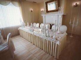 Dekoracija glavne mize, poročna dekoracija.