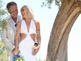 Poroka ob morju, poročna obleka, Zaobljuba.si