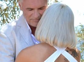 Poroka ob morju, poročno fotografiranje, Zaobljuba.si