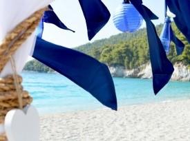 Morska poroka, poročna dekoracija, Zaobljuba.si