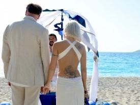 Poročni obred ob morju, poroka, Zaobljuba.si