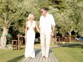 Poroka ob morju, poročna obleka, poročni fotograf, Zaobljuba.si