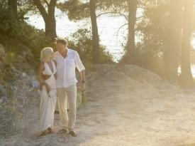 Morska poroka, poročno fotografiranje, Zaobljuba.si