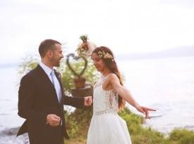poročni fotograf, poročni par, nevesta, poroka, zaobljuba