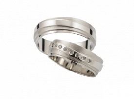 Poročni prstan, poročna prstana, zlatarna Sterle.