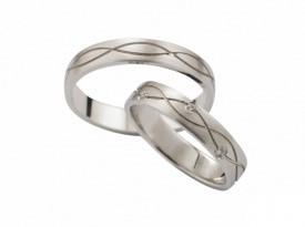 Poročni prstan, poročna prstana, gravura, zlatarna Sterle.