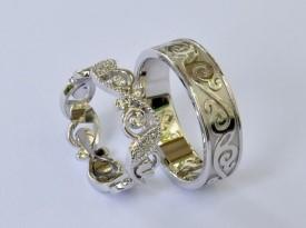 Zlatarstvo kodre, poročni prstan, unikaten prstan, zaobljuba.si