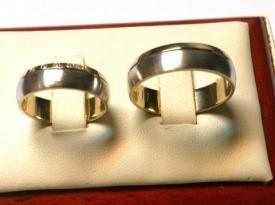 Poročna prstana, poročni prstan.