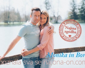 Monika in Borut, ona-on.com