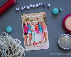 Instalab magnetki, dekliščina, fotograf, animacija na poroki, poročni fotograf, nagradna igra dekliščina