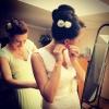 Poročna pričeska - Irina Kysselef