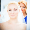 Jasna Oklešen - poročno ličenje