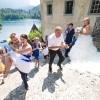Poročno fotografiranje, poročna fotografija, Bled