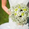 poročni šopek ,poročna obleka