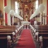 poročna dekoracija, baloni, magic, cerkev
