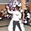poročni ples, poročna obleka, par, prvi ples, prostyle, poročni tečaj