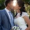 mladoporočenca, poroka, zaobljuba, poročni šopek, poročna obleka