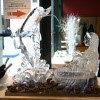 ledene skulpture, rismondo, poročna dekoracija, poroka, zaobljuba