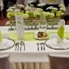 poročna dekoracija mize v Termah 3000.