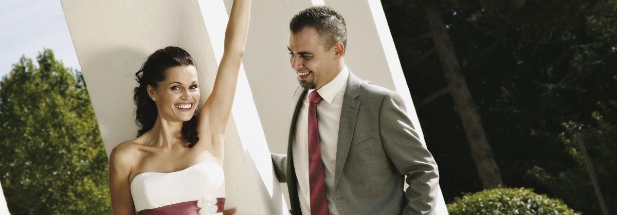 Poroka, poročni par, sanjska poroka pop tv, zaobljuba