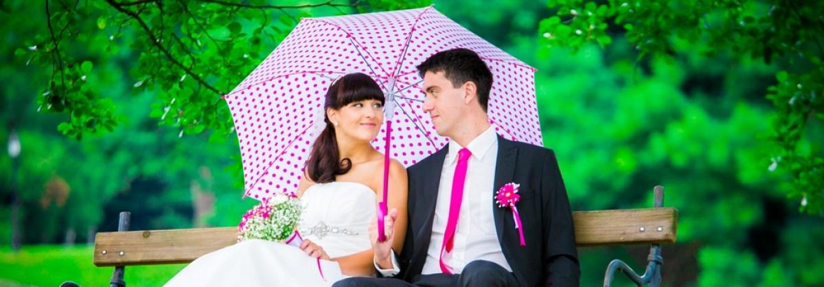 Mladoporočenca, poroka, par